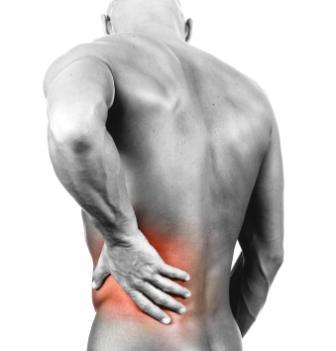 המחשה של כאב גב
